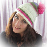 Luxury Handknit Wooly Hat With Bobble, By Shoreline - Parade Handmade