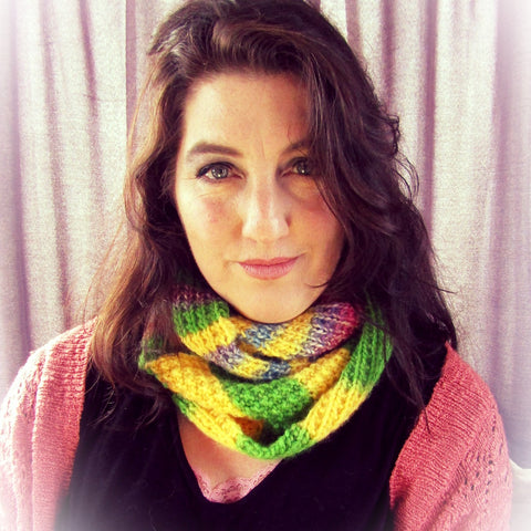 Multi-Coloured Scarf, By Shoreline, Simple Luxuries Delicately Made - Parade Handmade