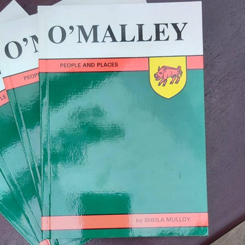 O'Malley, People and Places, By Sheila Mulloy - Parade Handmade