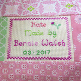 Patchwork Baby Quilt, By Bernadette Walsh - Parade Handmade