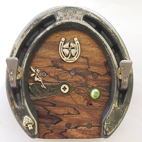 Pony Horseshoe Fairy Door Keyrack, By Liffey Forge - Parade Handmade