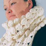 Pretty Crocheted Scarf, By Shoreline - Parade Handmade