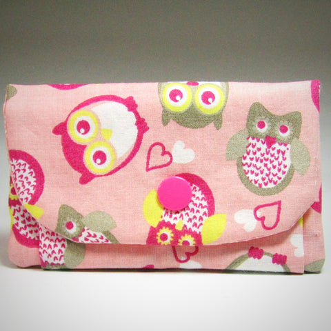 Pretty Little Pink Owl Coin Purse, By JaDa Crafts Ireland - Parade Handmade