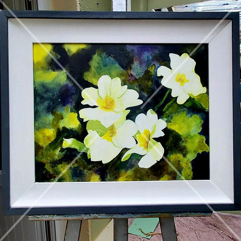 Queen Of May, Primrose. Original Acrylic, By Nuala Brett-King - Parade Handmade