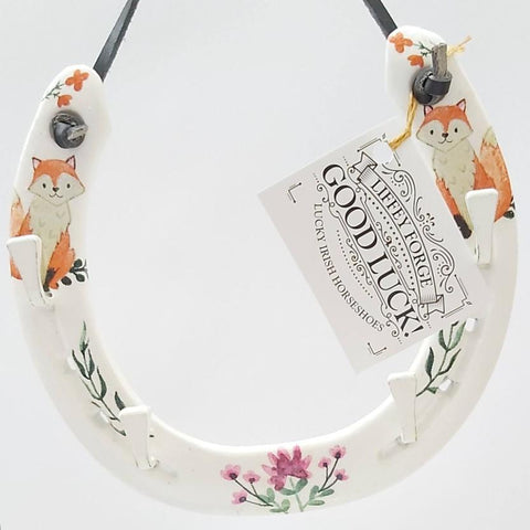 Recycled Fox Themed Horseshoe, by Liffey Forge - Parade Handmade