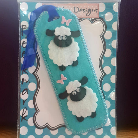 Sheep Bookmark with Black Faces, By Ditsy Designs - Parade Handmade