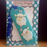 Sheep Bookmark with Butterflies, By Ditsy Designs - Parade Handmade