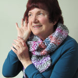 Soft & Luxurious Hand Knitted Wrap, By Jo's Knits - Parade Handmade