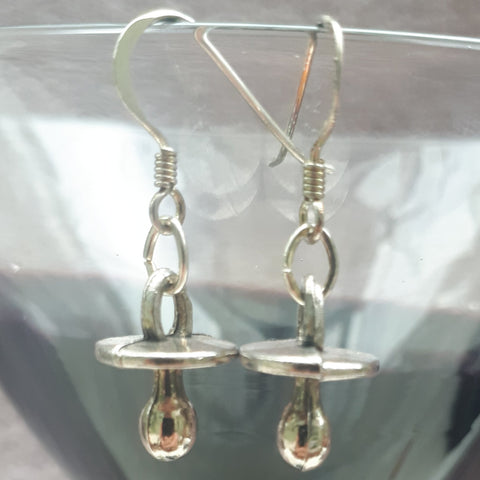 Soother Charm Earrings, By Lapanda Designs - Parade Handmade