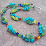 Summer Gemstone Necklace, By Lapanda Designs - Parade Handmade