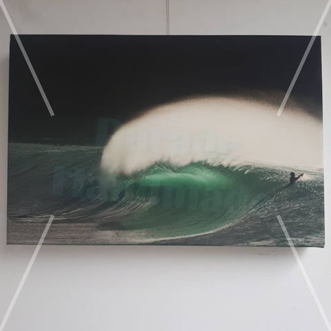 Surfing on the Wild Atlantic Way, Canvas Print, By Kevin Smith - Parade Handmade