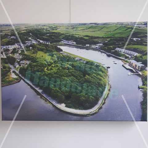 The Quay, Newport, Co. Mayo, Canvas Print, By Kevin Smith - Parade Handmade