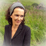 Trendy Reversable Black & White Headscarf, By JaDa Crafts Ireland - Parade Handmade
