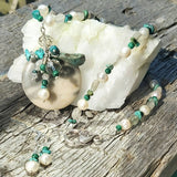 Wild Sea Gemstone Pendant, By Lapanda Designs - Parade Handmade