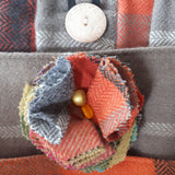 Wool Bag, Lined. Front Pockets, Two Inner Pockets, By Shoreline - Parade Handmade