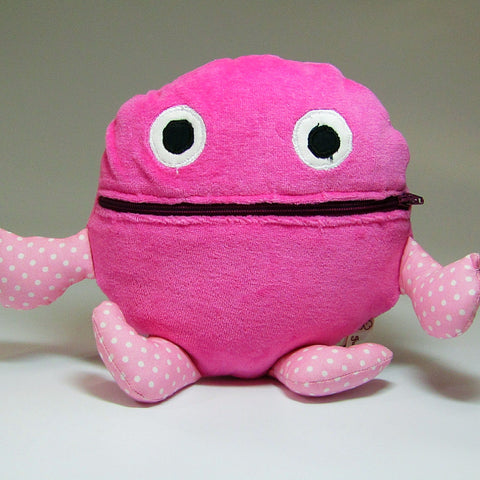 Worry Eater in Pink, ''Eats'' Your Worries Away! By JaDa Crafts Ireland - Parade Handmade