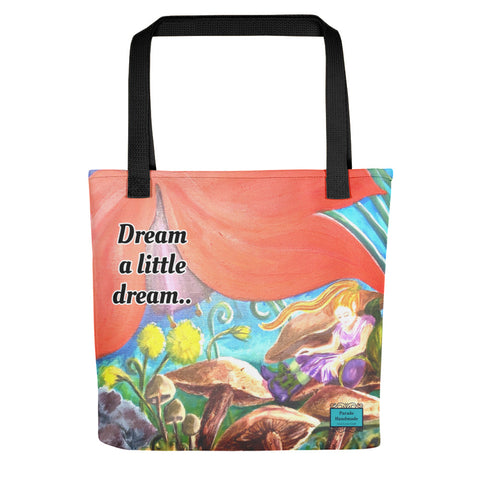 Tote bag - Dream A Little Dream.. By Parade - Parade Handmade West of Ireland