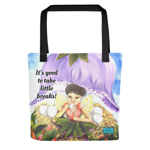 Tote bag - It's Good To Take Little Breaks! By Parade -Parade Handmade