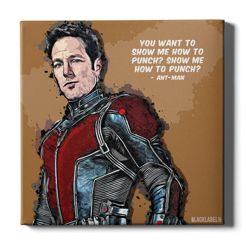 Ant-Man Canvas Print - Marvel