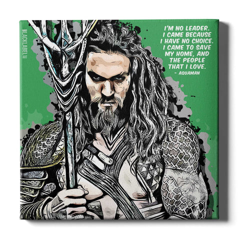 Aquaman Canvas Print