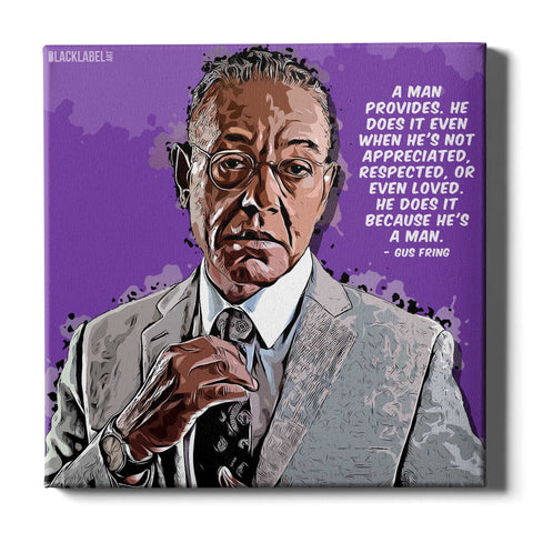 Gus Fring Canvas Print - Breaking Bad