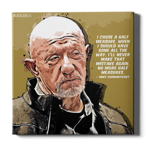 Mike Ehrmantraut Canvas Print - Breaking Bad
