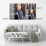 Black Widow Canvas Print - Marvel