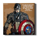 Captain America Canvas Print - Marvel