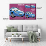 Sally Carrera Canvas Print - Cars