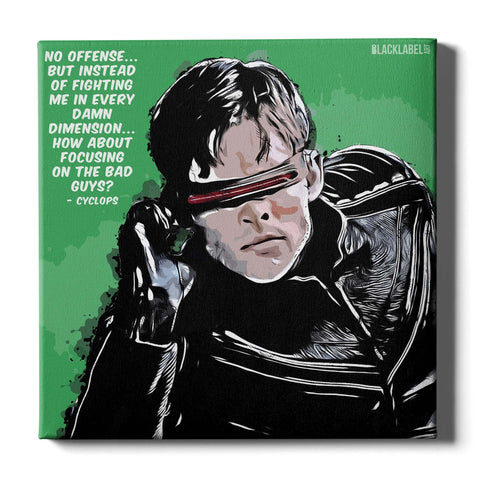 Cyclops Canvas Print - X-Men