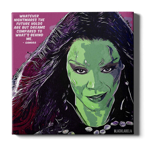 Gamora Canvas Print - Guardians of the Galaxy