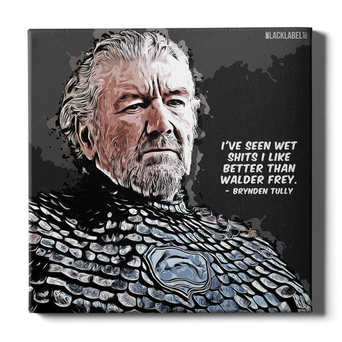 Brynden Tully Canvas Print - Game of Thrones