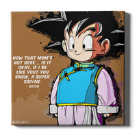 Goten Canvas Print - Dragon Ball