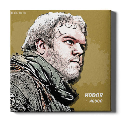 Hodor Canvas Print - Game of Thrones