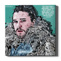 Jon Snow Canvas Print - Game of Thrones