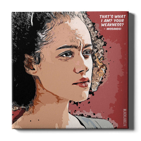 Missandei Canvas Print - Game of Thrones