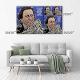 Mance Rayder Canvas Print - Game of Thrones