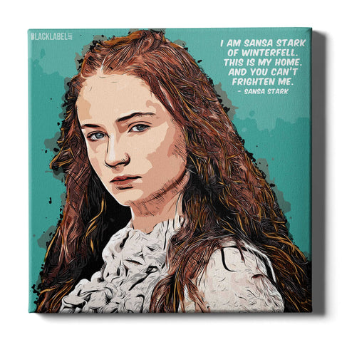 Sansa Stark Canvas Print - Game of Thrones