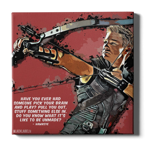 Hawkeye Canvas Print - Marvel