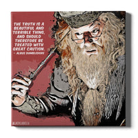 Albus Dumbledore Canvas Print - Harry Potter