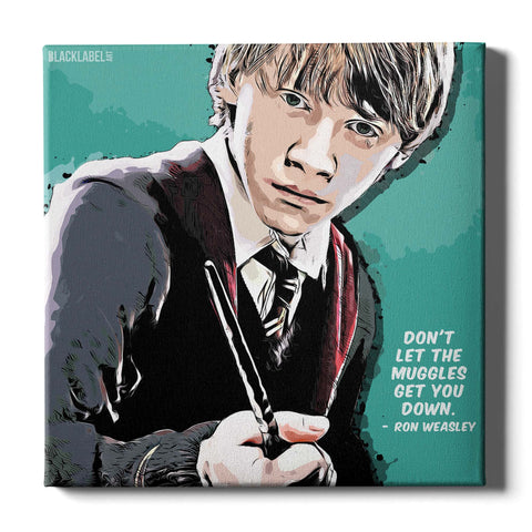 Ron Weasley Canvas Print - Harry Potter