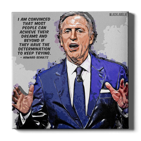 Howard Schultz Canvas Print