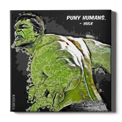 Hulk Canvas Print - Marvel