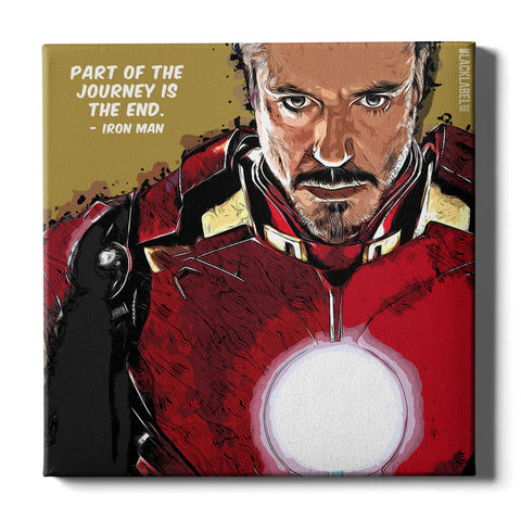 Iron Man Canvas Print - Marvel
