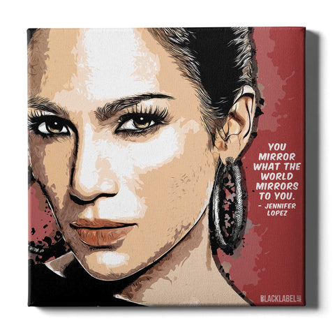 Jennifer Lopez Canvas Print