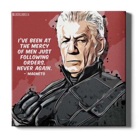 Magneto Canvas Print - X-Men