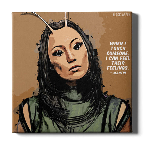 Mantis Canvas Print - Guardians of the Galaxy