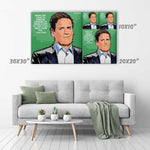 Mark Cuban Canvas Print