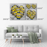 Minions Canvas Print - Despicable Me