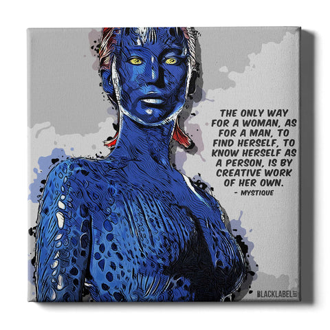 Mystique Canvas Print - X-Men